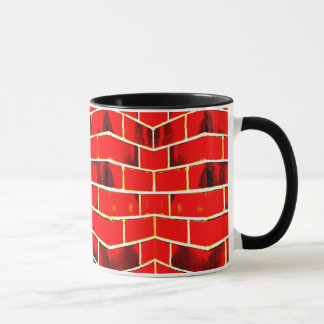 Red Brick Wall Mug