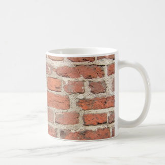 Red Brick Wall Structure Coffee Mug