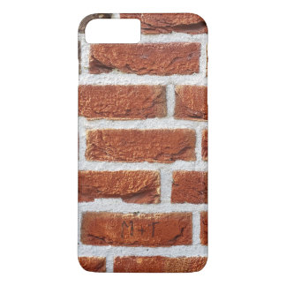Red Brick Wall Texture iPhone 7 Plus Case