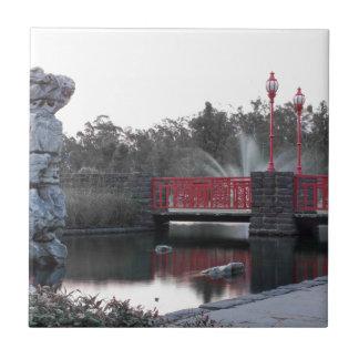 Red Bridge Ceramic Tile