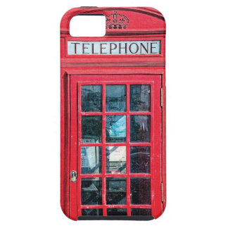 Red British Phone Booth from London Case For The iPhone 5