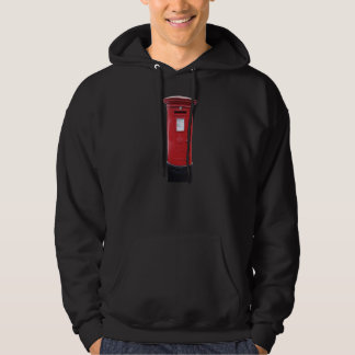 Red British Post box Hoodie
