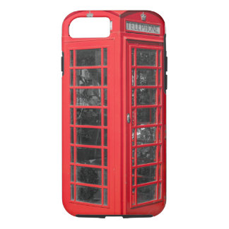 Red British Telephone Box iPhone 8/7 Case
