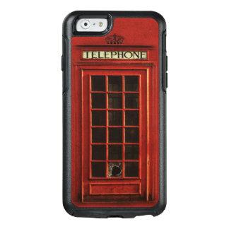 Red British Telephone Box OtterBox iPhone 6/6s Case