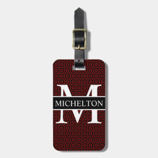 Red Bubble Personalized Luggage Tag