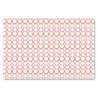 RED BUBBLE TISSUE PAPER