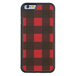 Red Buffalo Plaid Maple iPhone 6 Bumper Case