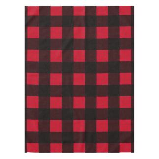 Red Buffalo Plaid Tablecloth
