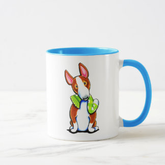 Red Bull Terrier Lets Play Mug