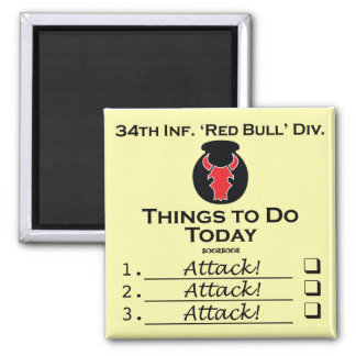 Red Bull Things-to-Do square magnet
