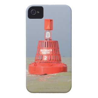 Red Buoy Sea Reach South iPhone 4 Case-Mate Cases