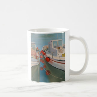 Red Buoys Coffee Mug