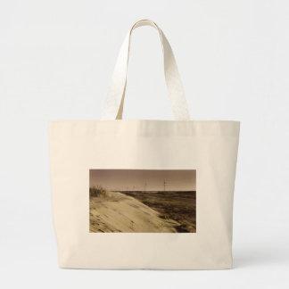 Red burn - the Outer Banks, NC. Jumbo Tote Bag