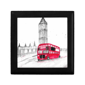Red bus London Gift Box