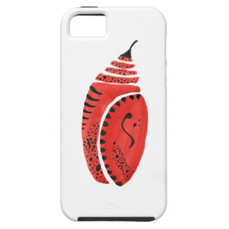 Red Butterfly Cocoon Case For The iPhone 5