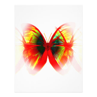 Red Butterfly Flyer