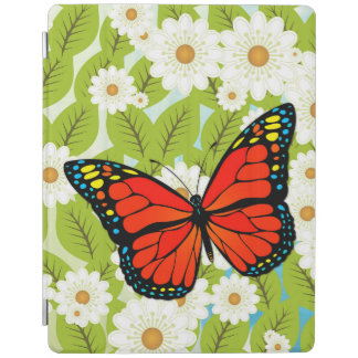 Red butterfly iPad cover