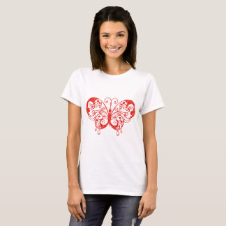 Red Butterfly - Women's Basic T-Shirt