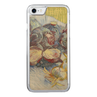 Red Cabbages and Onions by Vincent Van Gogh Carved iPhone 7 Case