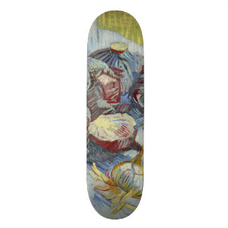 Red Cabbages and Onions by Vincent Van Gogh Skate Deck
