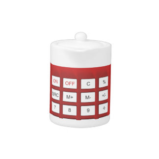 Red calculator calculator