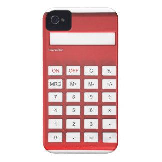 Red calculator calculator iPhone 4 covers