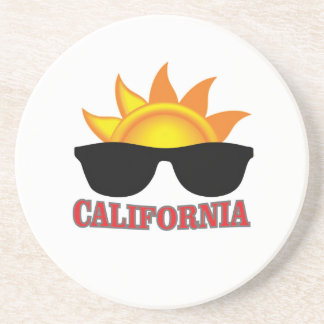 red California cool Coaster