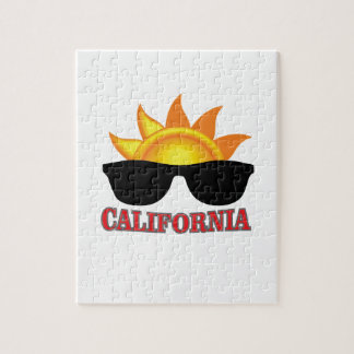 red California cool Jigsaw Puzzle
