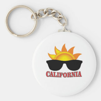 red California cool Keychain