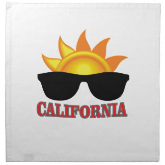 red California cool Napkin