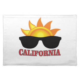 red California cool Placemat