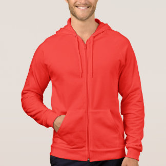RED : California Fleece Zip Hoodie
