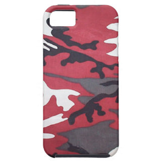 Red Camo iPhone 5 Case