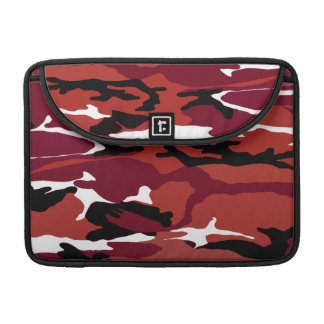 Red Camo Sleeve For MacBooks