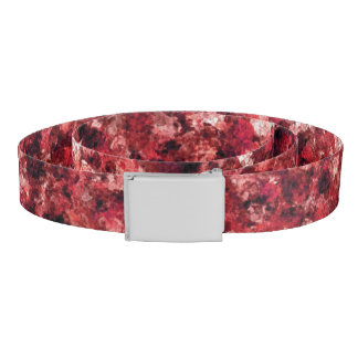 Red Camouflage Belt
