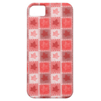 Red Canadian Maple iPhone 5 Cover