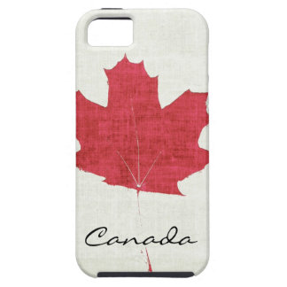 red Canadian maple leaf iPhone 5 Case