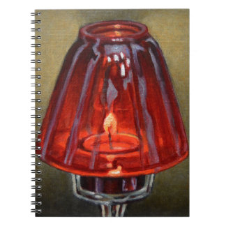 Red Candle Notebook