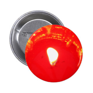Red Candlelight, Flame , Candle, Christmas Love 2 Inch Round Button