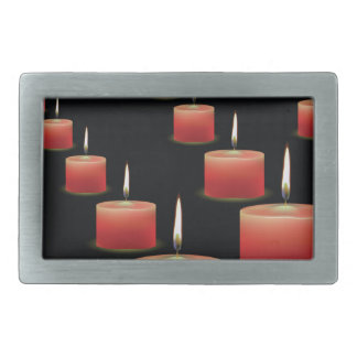 red candles belt buckle