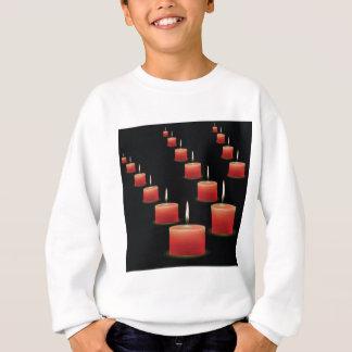 red candles sweatshirt