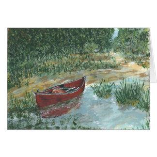 Red Canoe Card