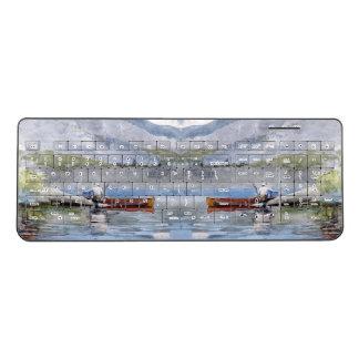Red Canoe Lake Winslow Homer Wireless Keyboard