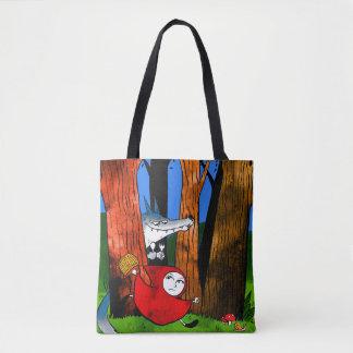 Red Caperucita Tote Bag
