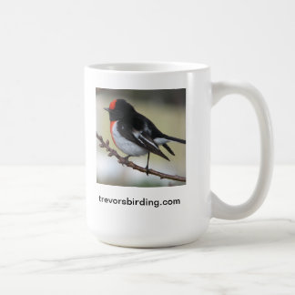 Red Capped Robin Coffee Mug