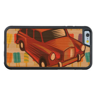 red car and Popsicle's Cherry iPhone 6 Bumper