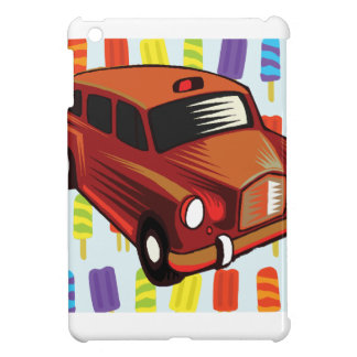 red car and Popsicle's iPad Mini Cases