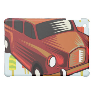 red car and Popsicle's iPad Mini Covers