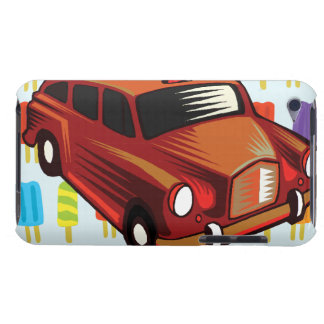 red car and Popsicle's iPod Touch Covers