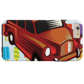 red car and Popsicle's Tough iPhone 6 Plus Case